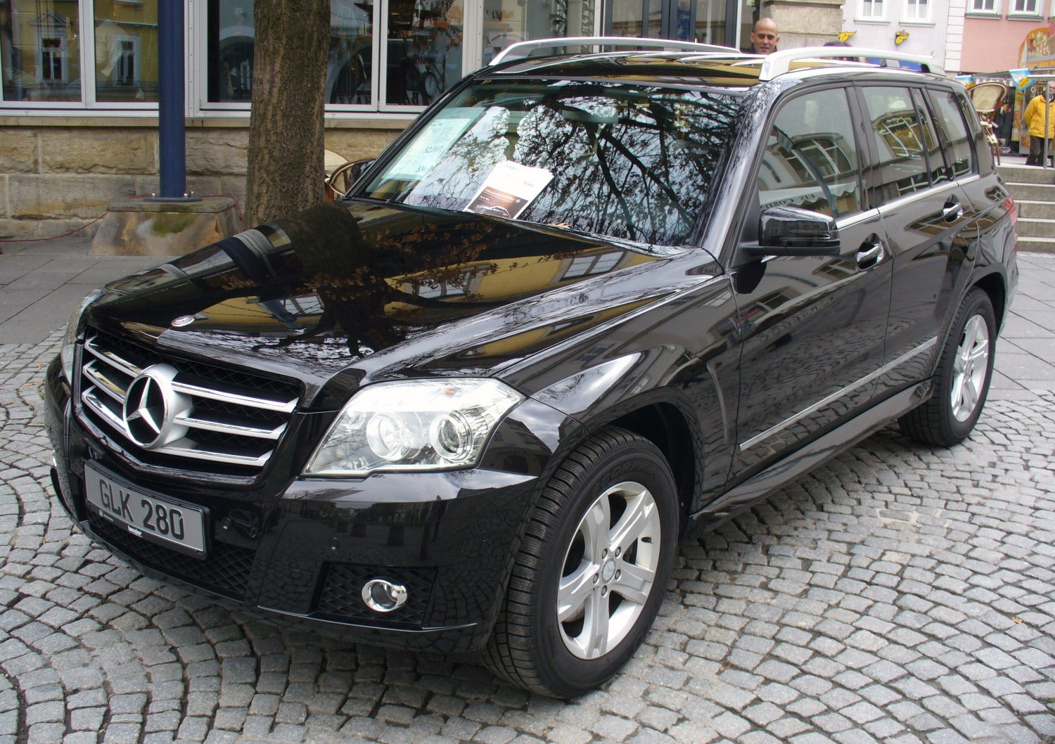 File Mercedes Benz X204 Glk 280 4matic Obsidianschwarz Jpg
