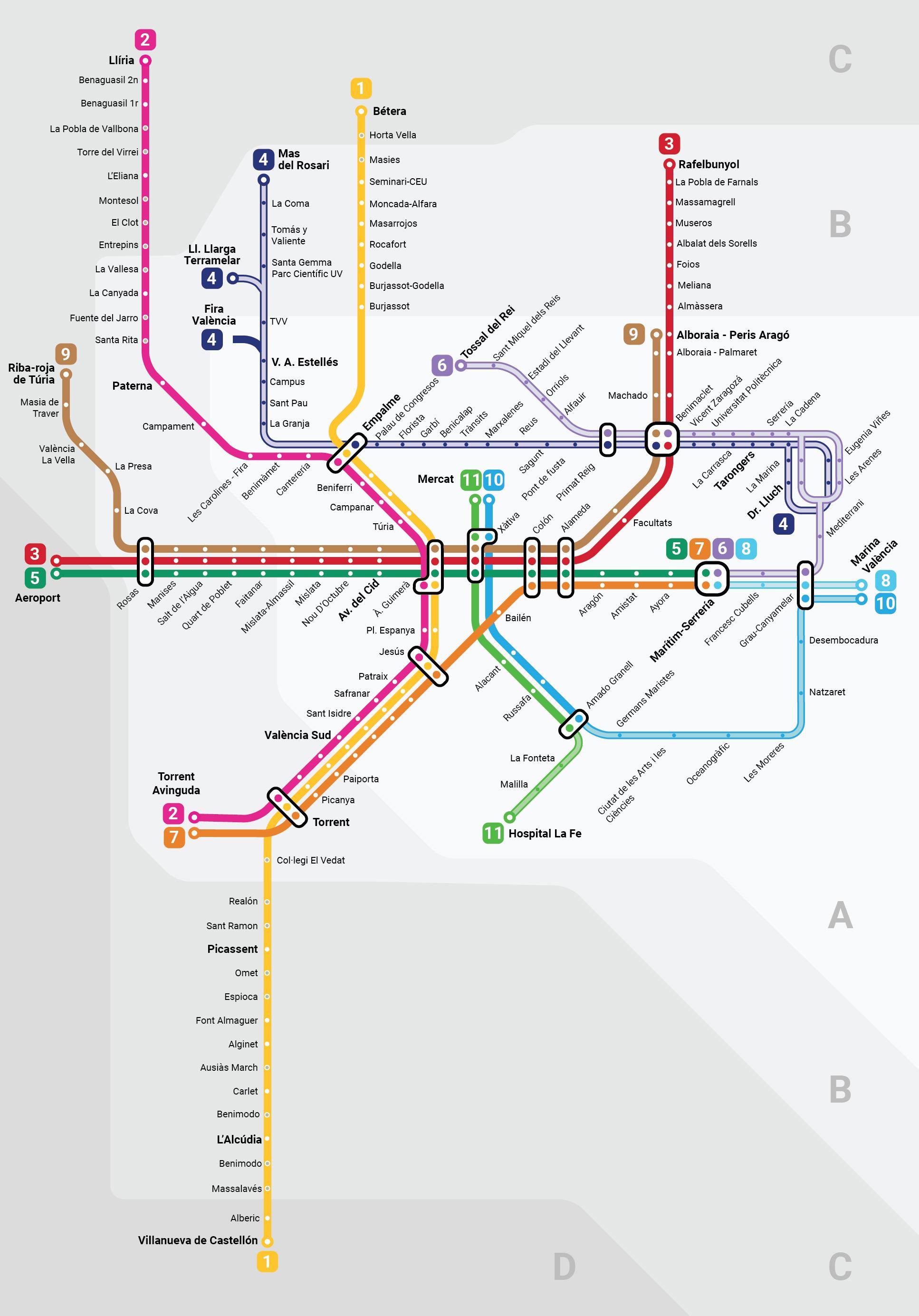 Metrovalencia Wikiwand
