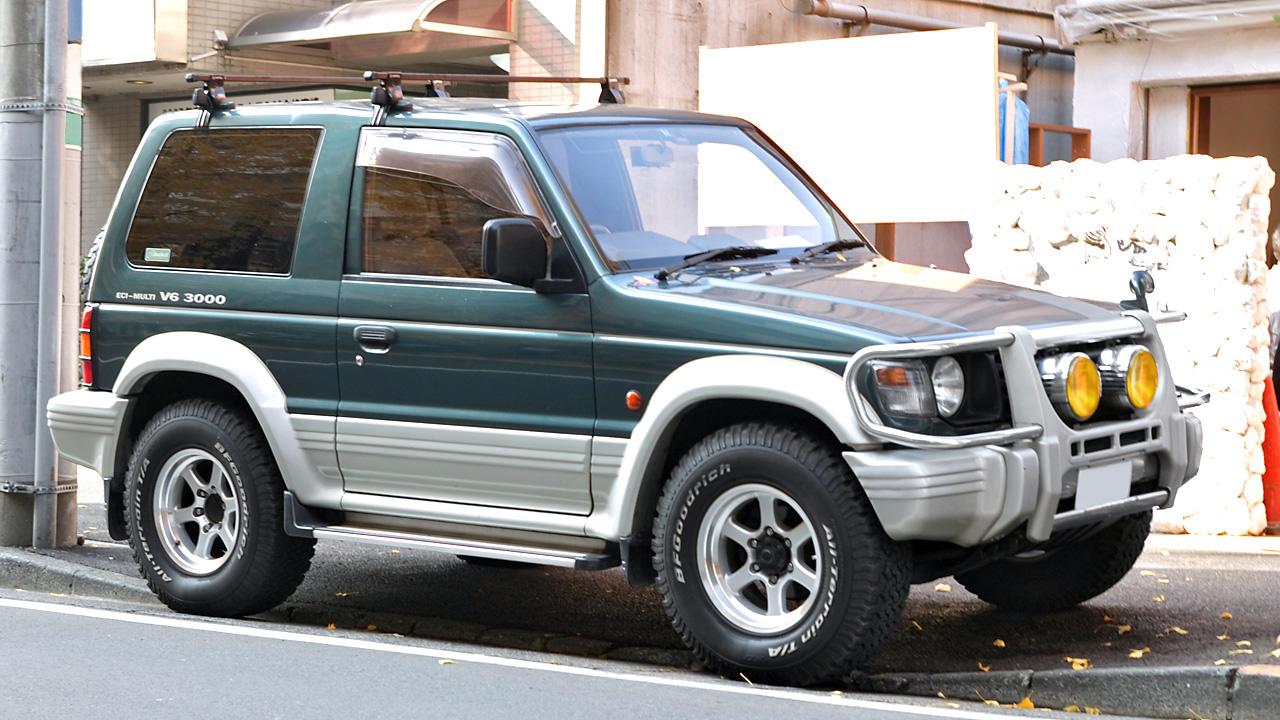 File Mitsubishi Pajero 001 Jpg Wikimedia Commons