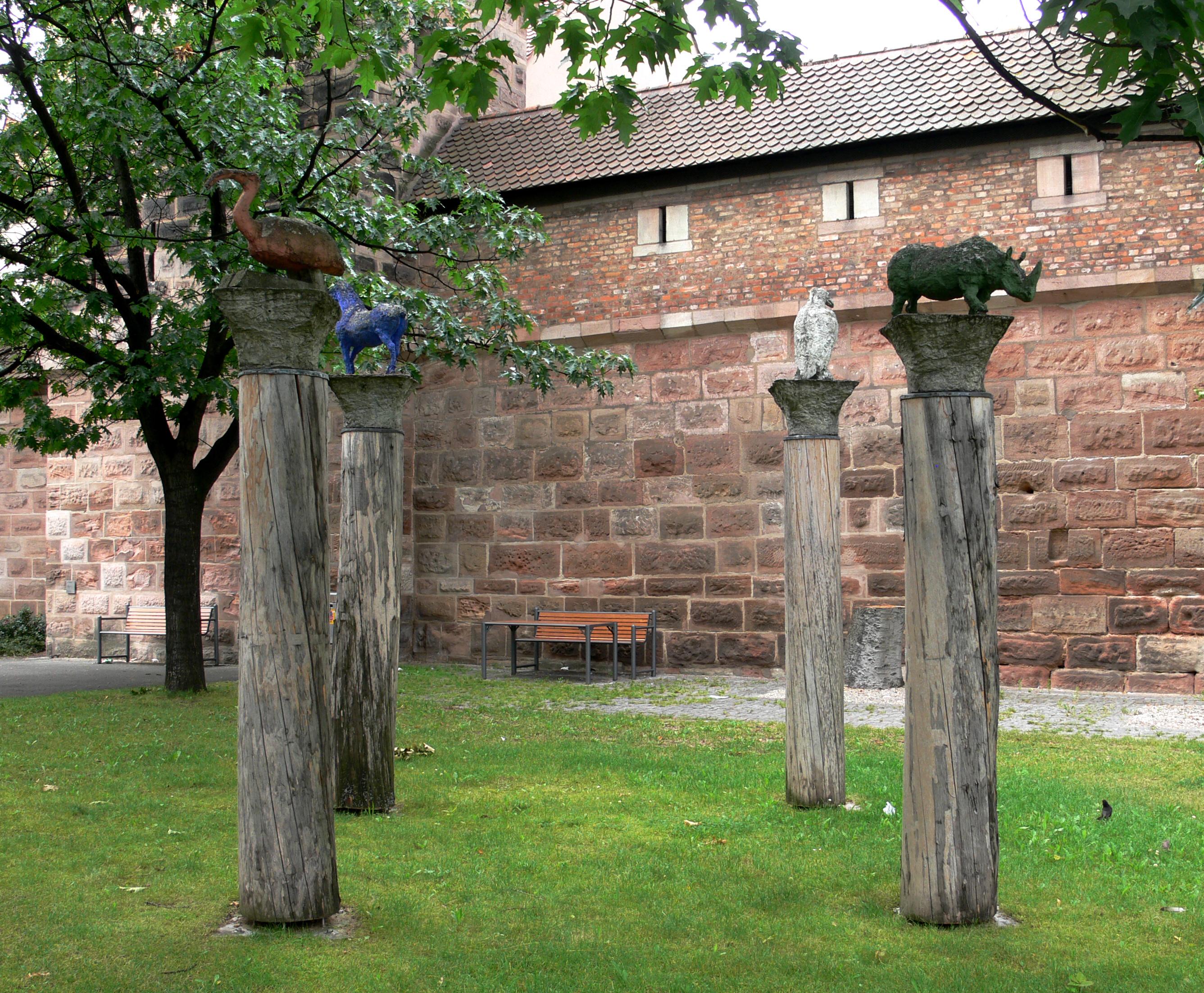 Skulpturen garten for Edelrost skulpturen garten