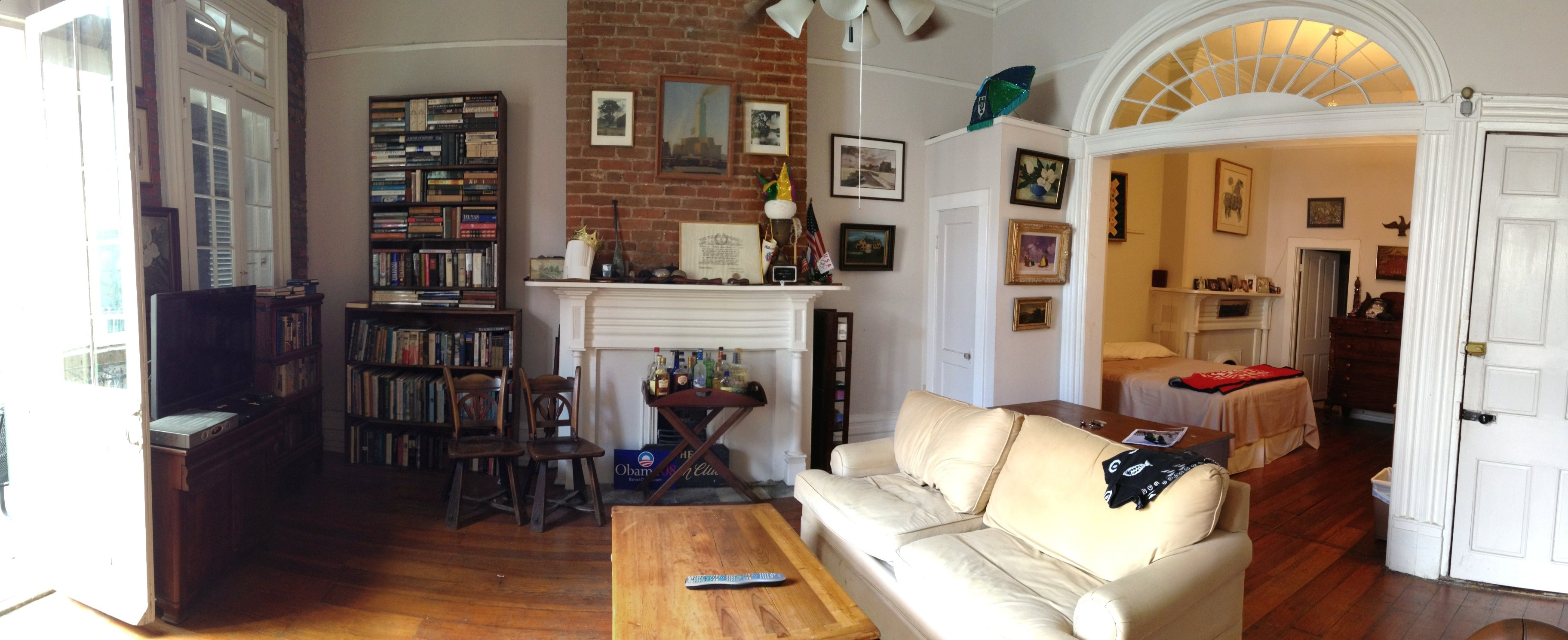 Superb File:New Orleans French Quarter Apartment Living Room