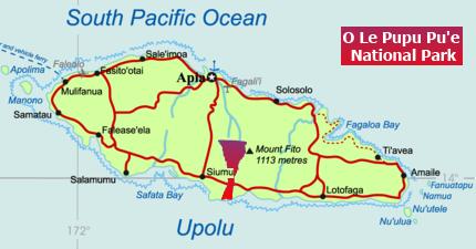 Parco nazionale di O Le Pupu Pu'e