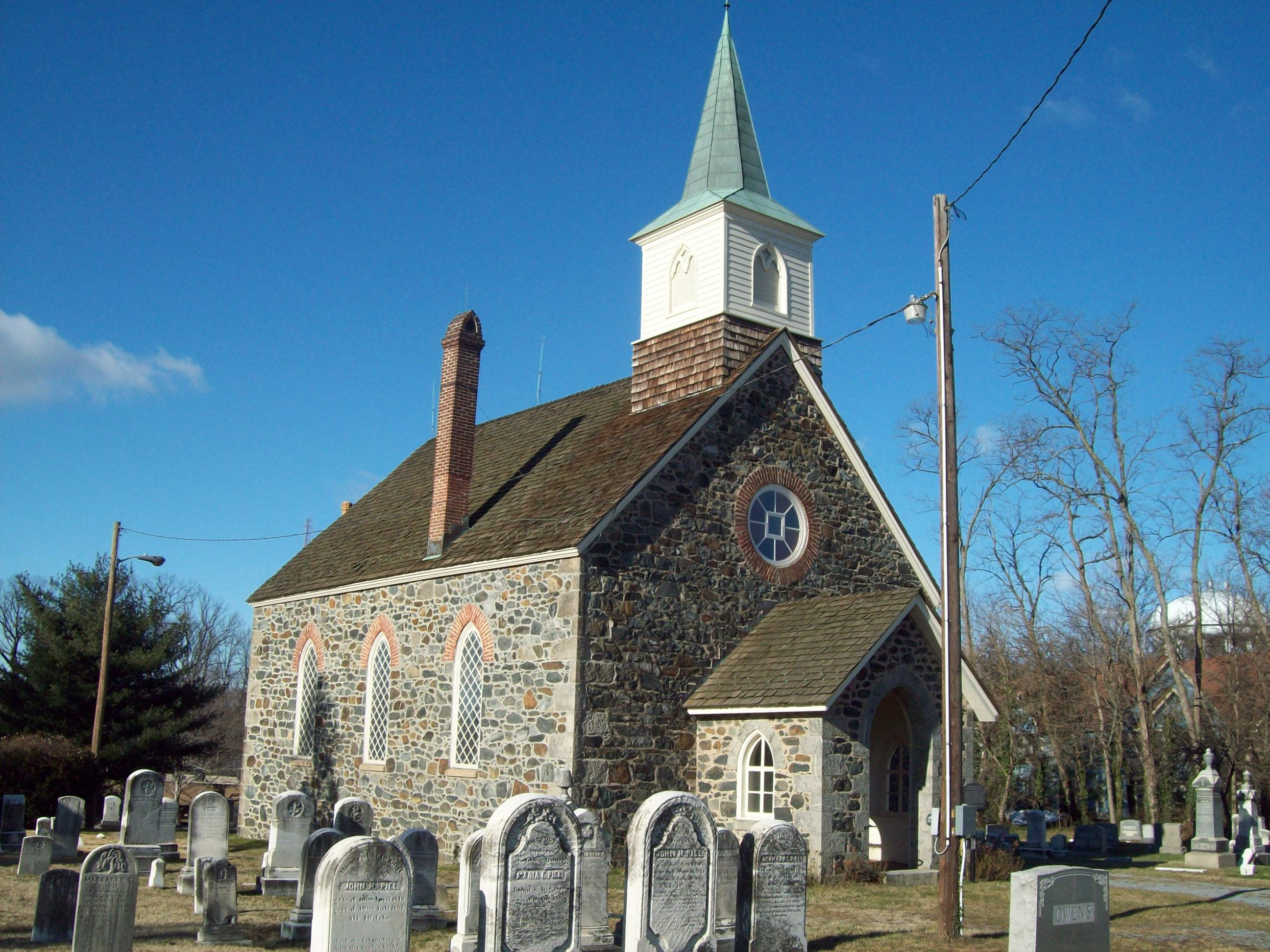 Image result for church and graveyard
