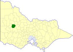 Shire of Dunmunkle Local government area in Victoria, Australia