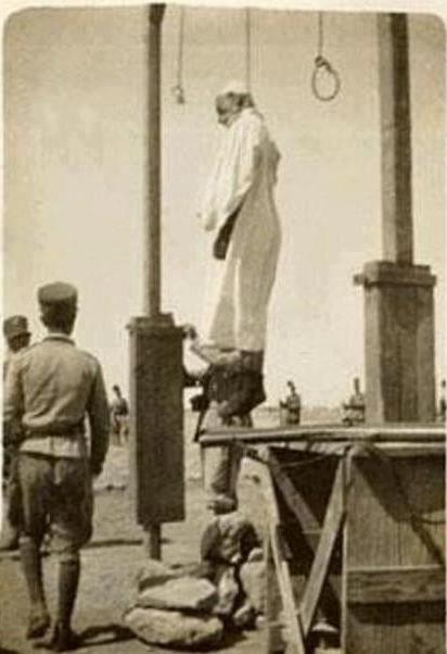 المختار بعد اعدامه