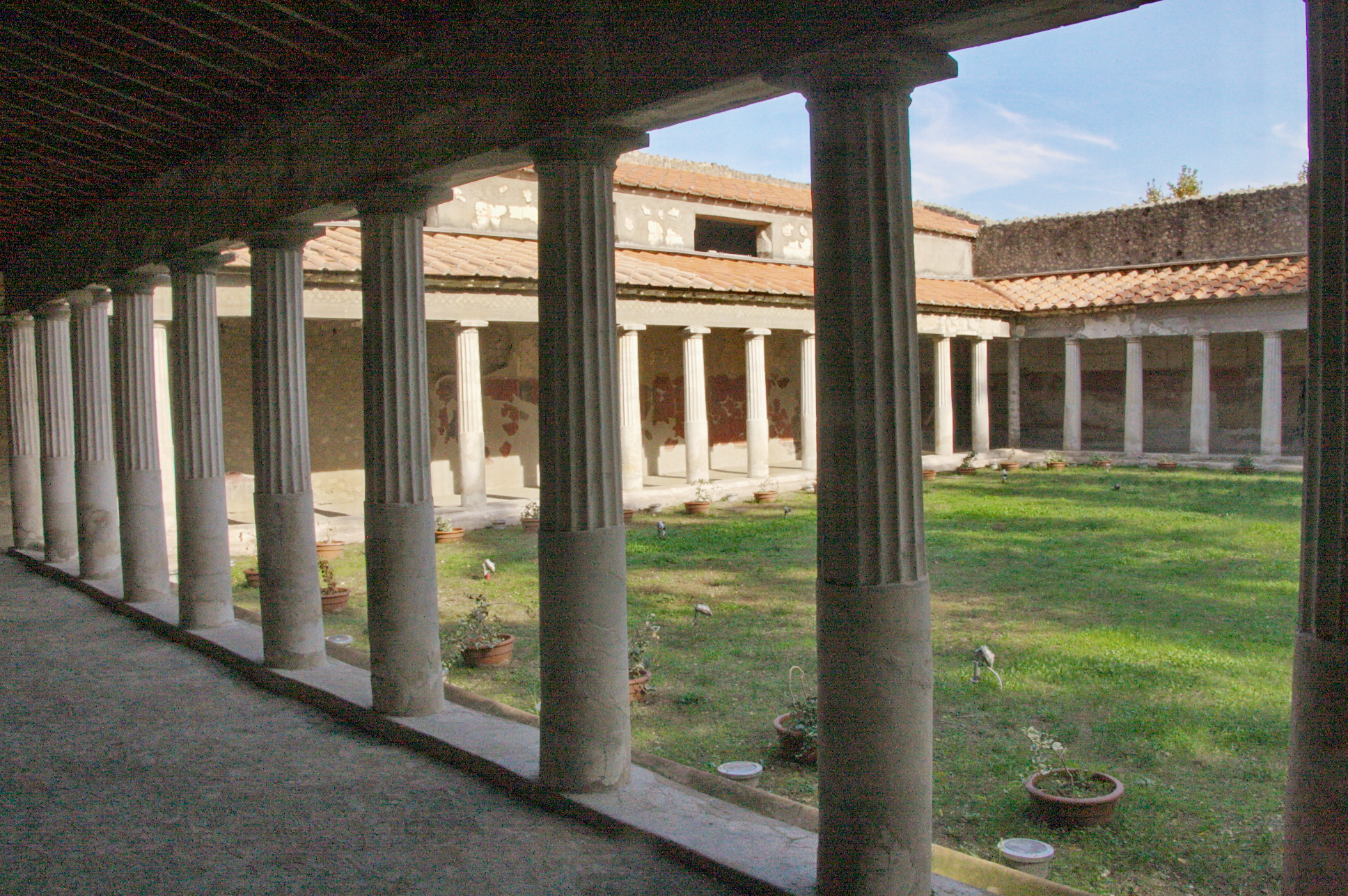 Villa Flavia Napoli Via Petrarca