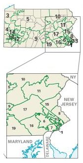 Pennsylvania: Congressional Constituencies
