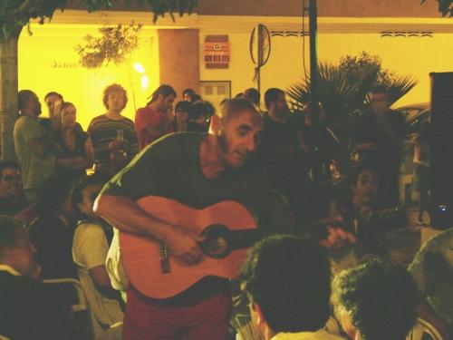 Actuación en 2007 en Tabernes de Valldigna