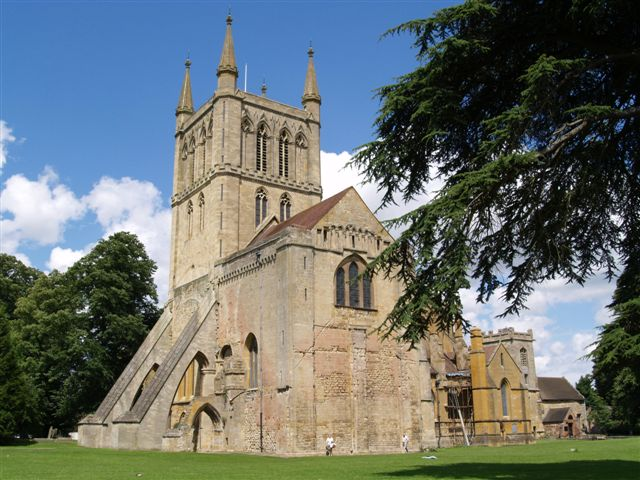 Pershore Abbey History File Pershore Abbey