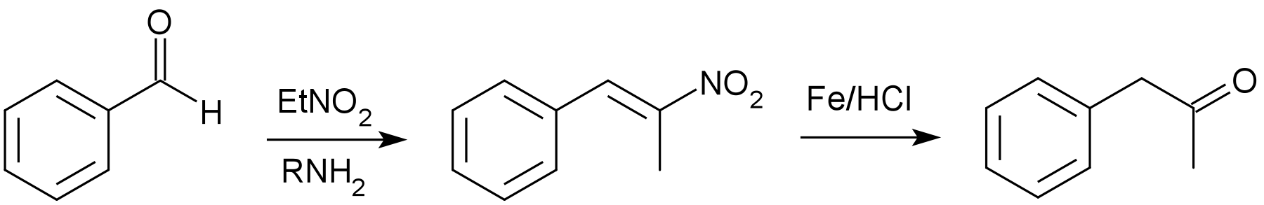 File:Phenylacetone via phenyl-2-nitropropene png - Wikimedia