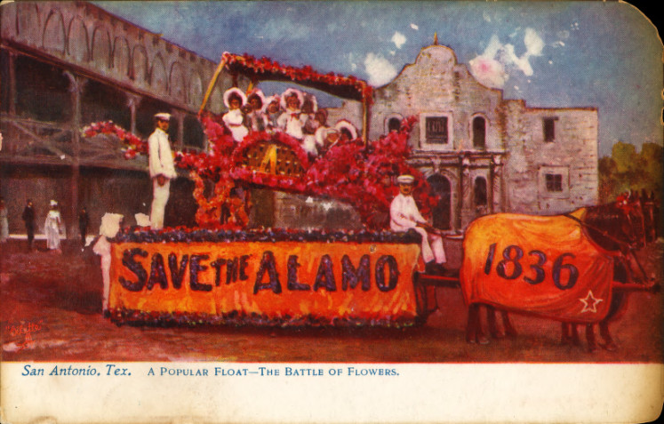 File Popular Float In The Battle Of Flowers San Antonio