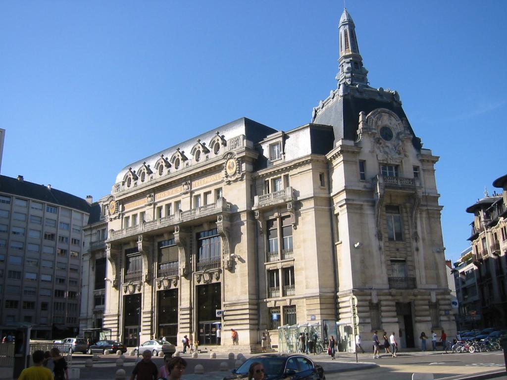 H tel des postes de dijon wikiwand for Dijon architecture