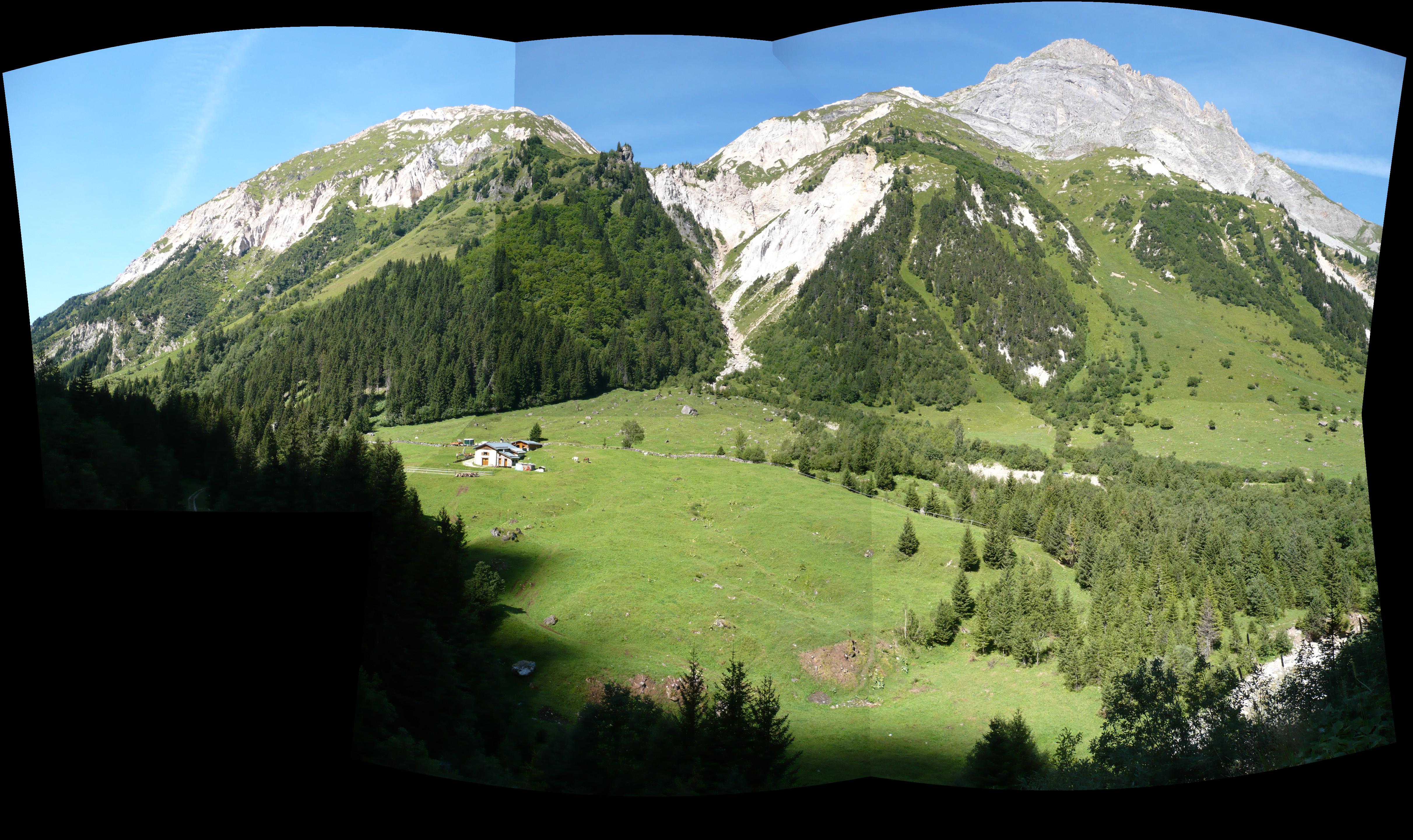 Description pralognan la vanoise - panorama montagne