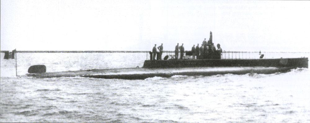 nereide  sommergibile 1913