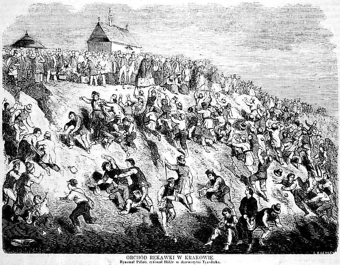 Święto Rękawki, 1860 r.