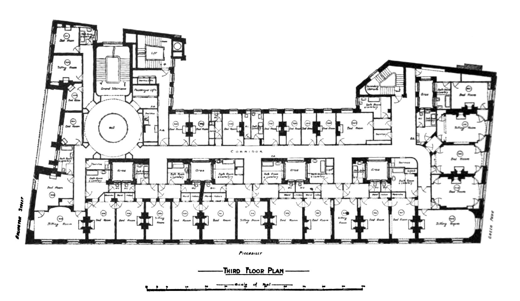 File Ritz London Floor Plan Jpg Wikimedia Commons