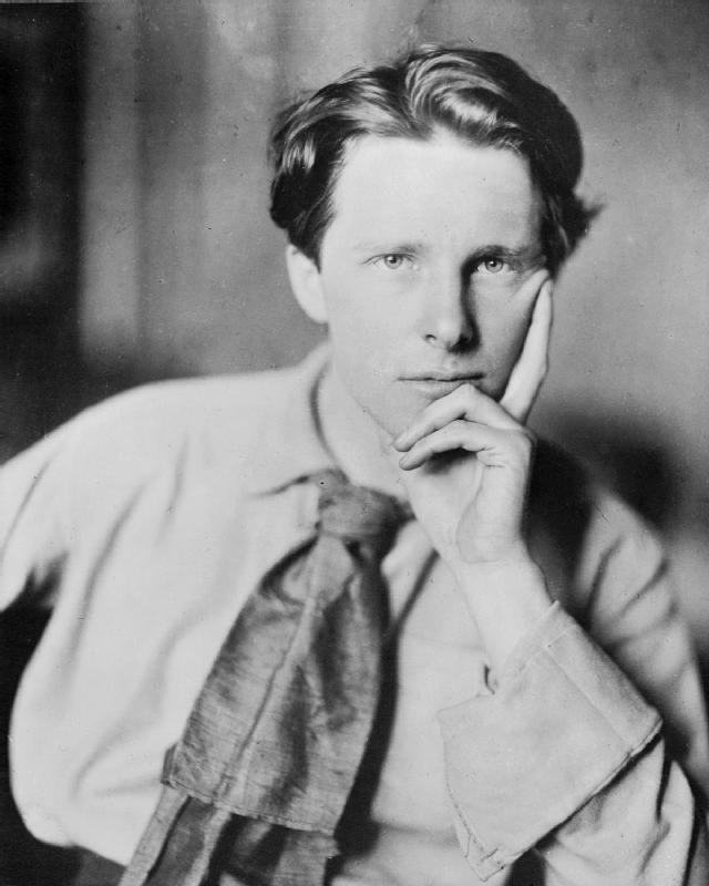 Portrait of Rupert Brooke