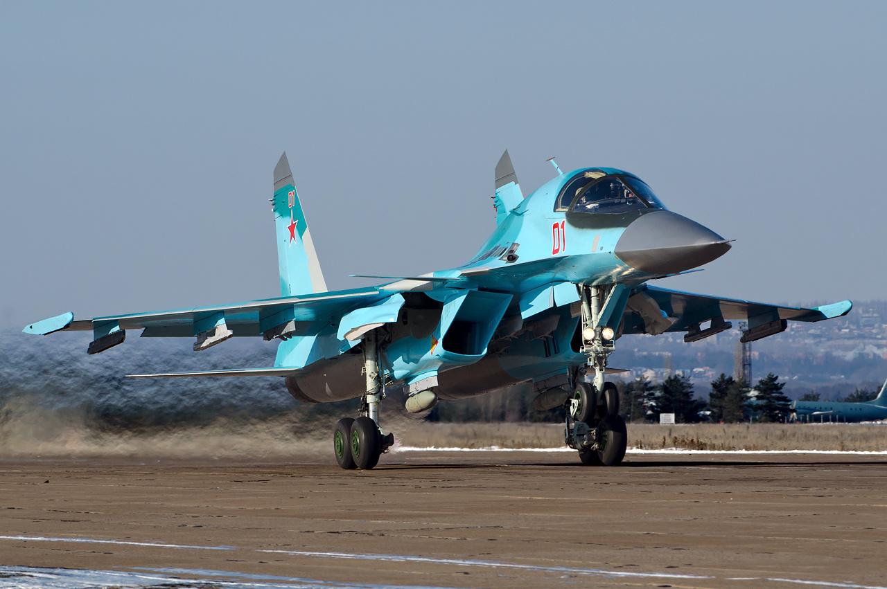 Resultado de imagen de Su-34