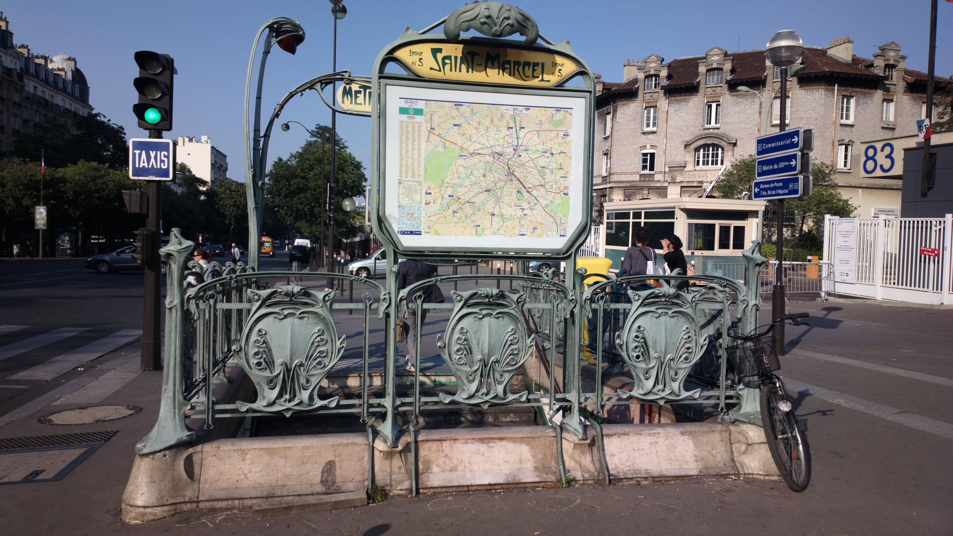 file saint marcel paris metro wikimedia commons. Black Bedroom Furniture Sets. Home Design Ideas