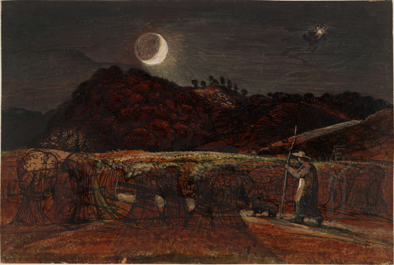 Samuel Palmer - Kornfeld im Mondenschein.jpg