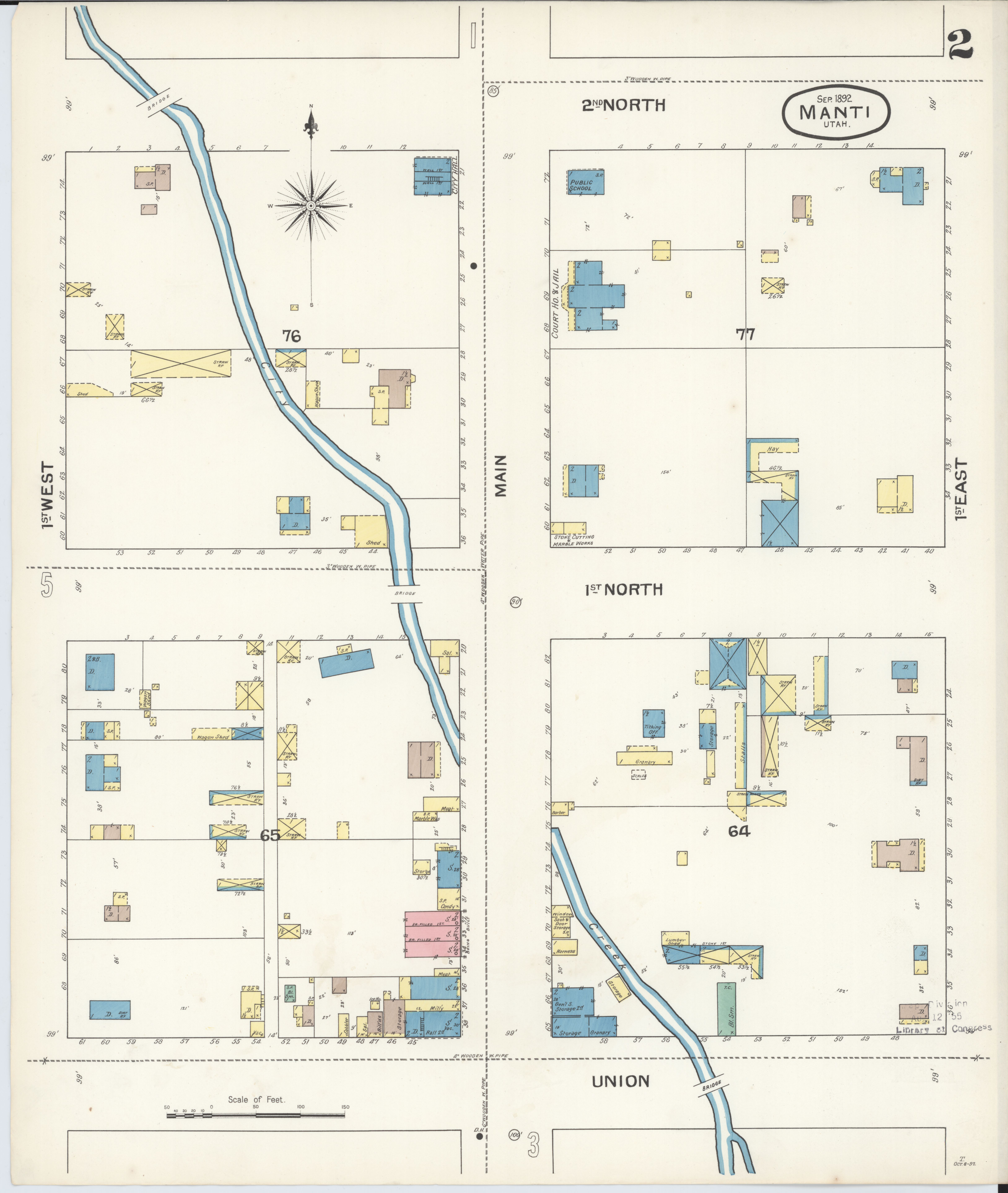 File:Sanborn Fire Insurance Map From Manti, Sanpete County