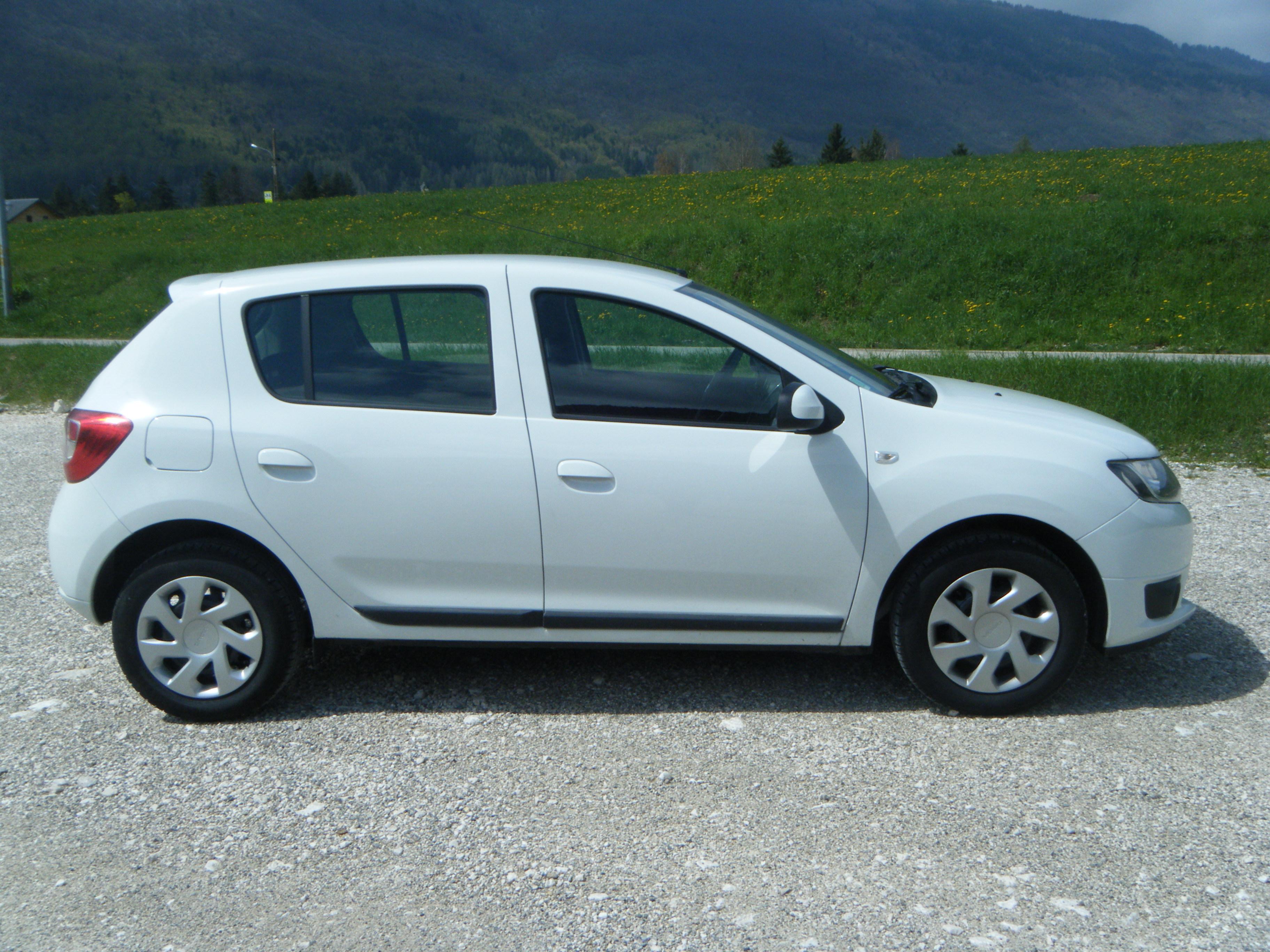 Dacia Sandero White Paint Code