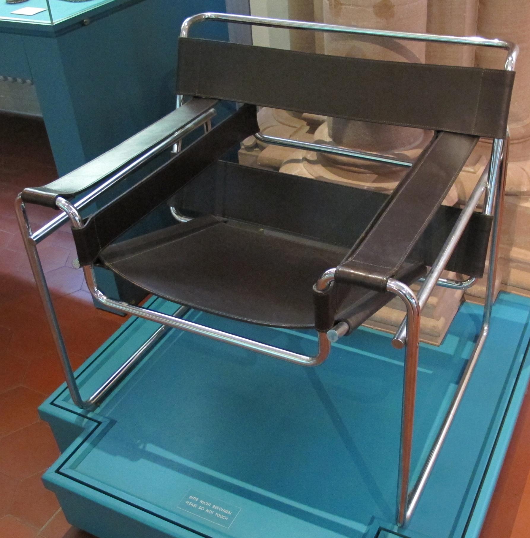 file sedia wassily marcel breuer disegno 1925 realizzazione 1964