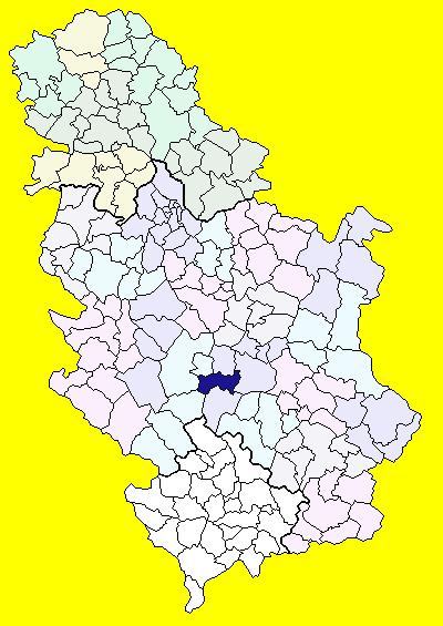Opstina Aleksandrovac Wikipedia