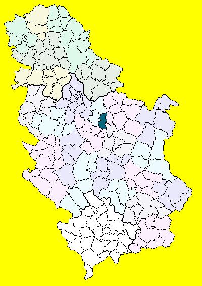 karta srbije velika plana Velika Plana (općina) – Wikipedija karta srbije velika plana