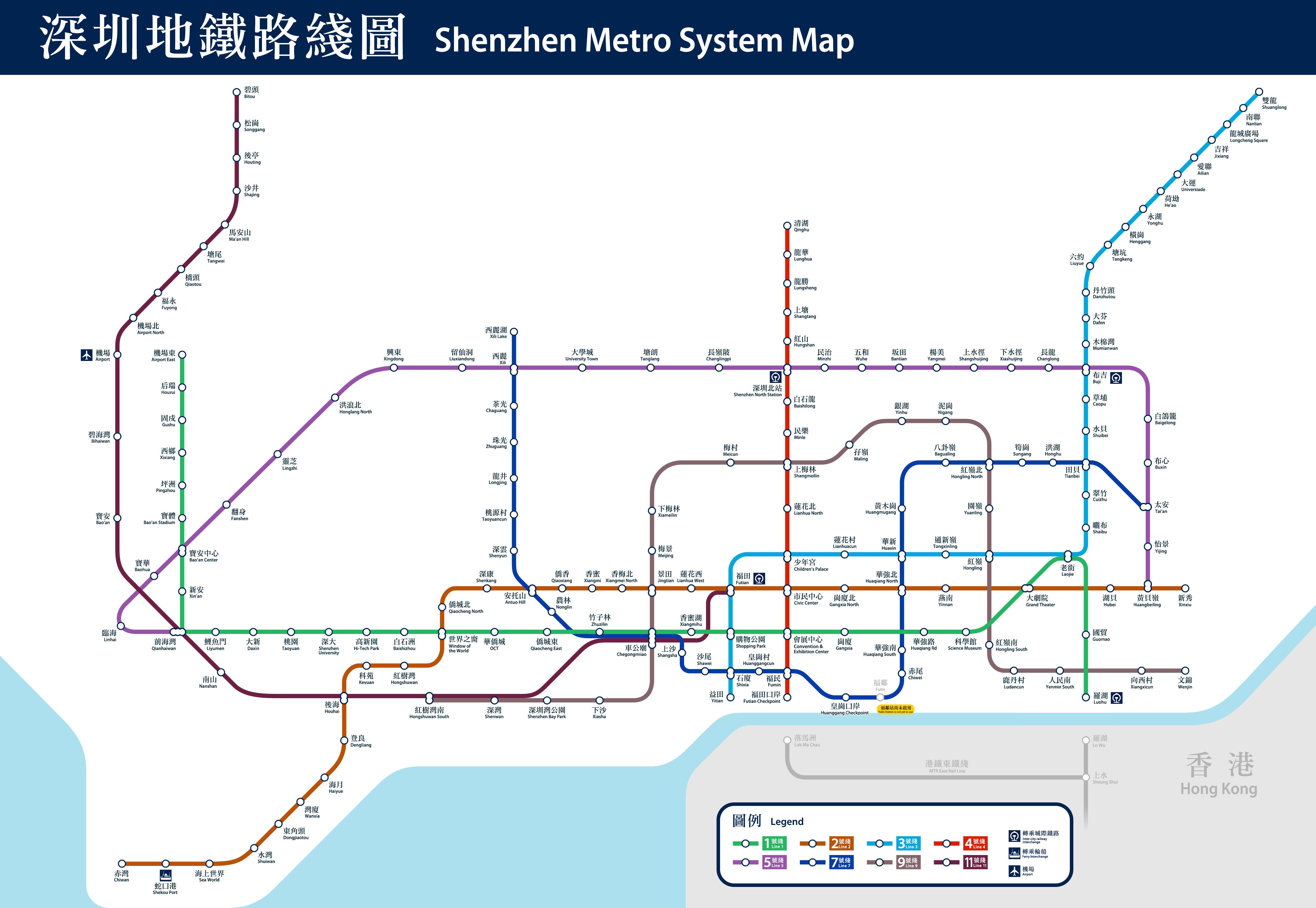 fileshenzhen metro system mappng  wikimedia commons - fileshenzhen metro system mappng