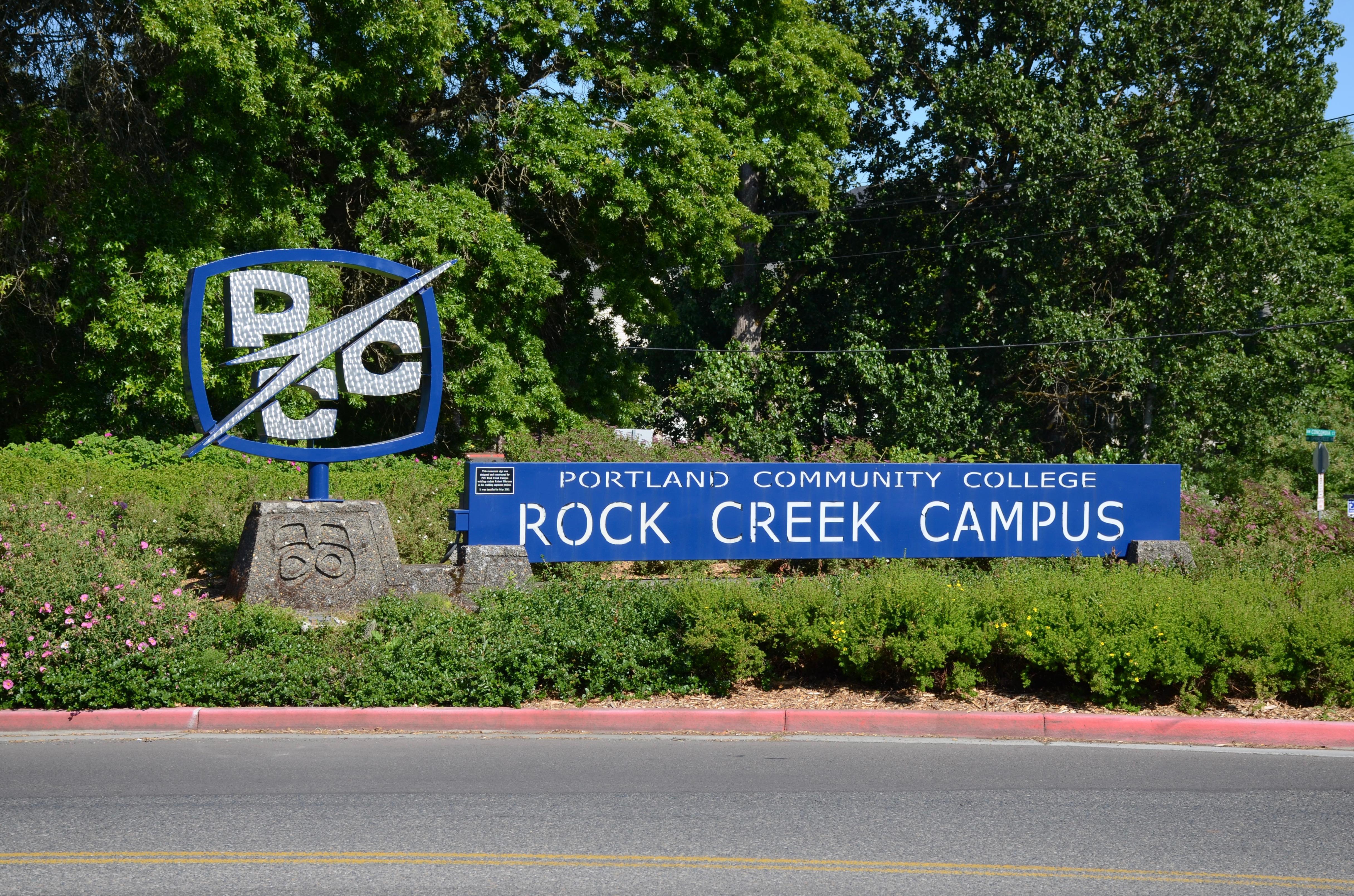File:Sign at PCC Rock Creek Campus entrance (2018).jpg ...