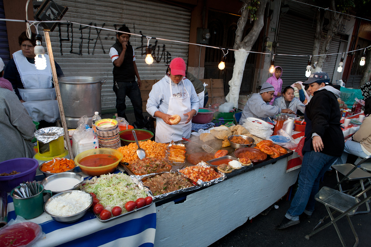 Street Food Vendors In New York City