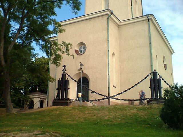 File:Suomenlinna. Suomenlinnan kirkko - Морской собор 1854г. Valokuva Victor Belousov. - panoramio.jpg