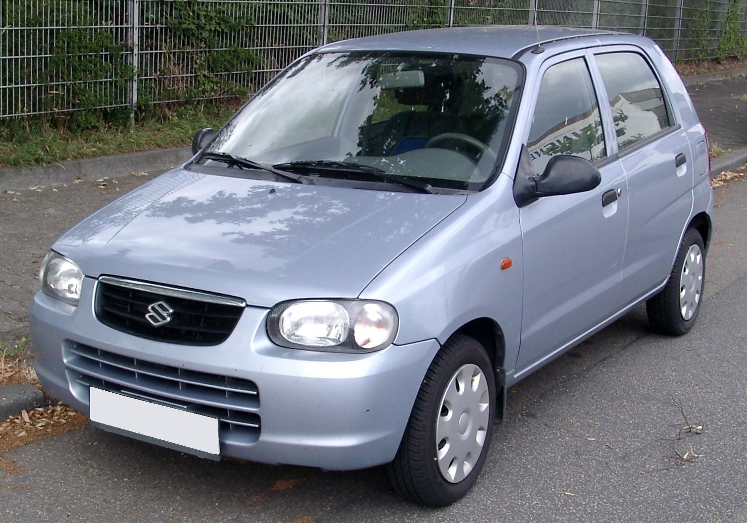 File Suzuki Alto Front 20080709 Jpg Wikimedia Commons