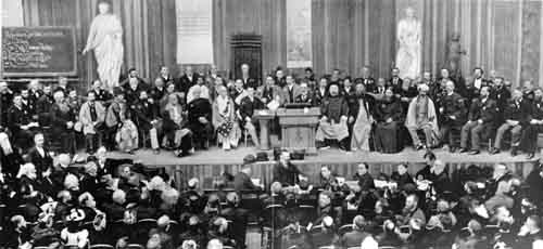 Swami Vivekananda on 21 September 1893 in Chicago Parliament of world's religions
