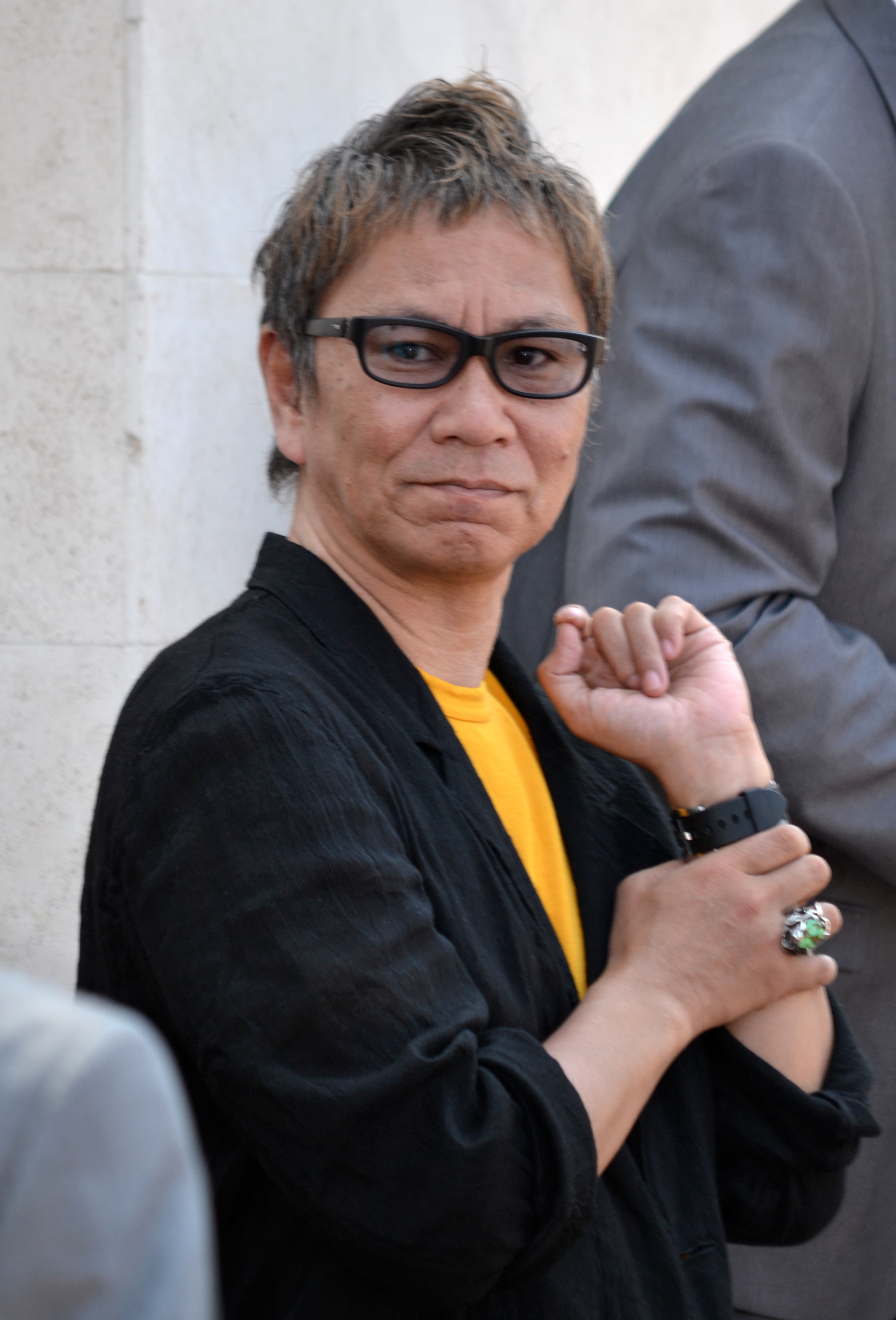 The 58-year old son of father (?) and mother(?) Takashi Miike in 2018 photo. Takashi Miike earned a  million dollar salary - leaving the net worth at 10 million in 2018