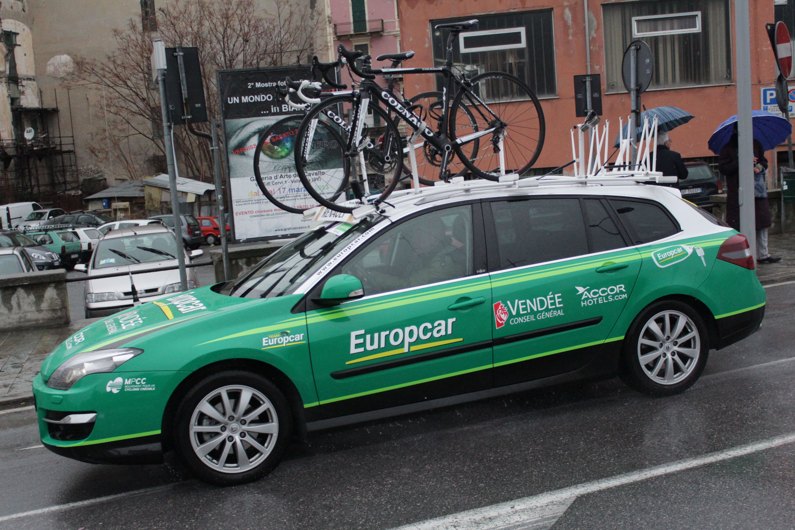 Europcar Car Rental Agency Frankfurt Am Main Germany