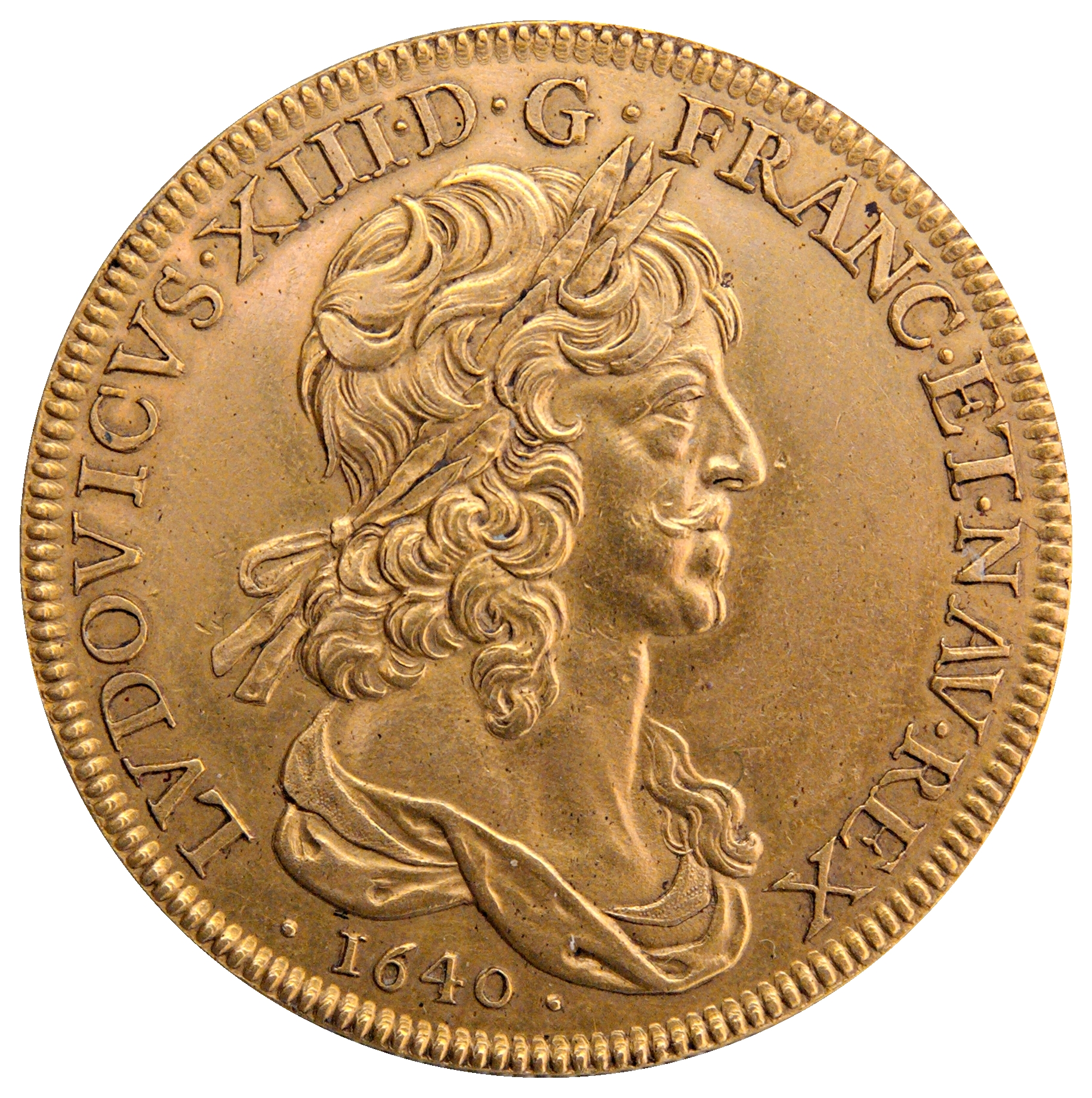 File:Ten-louis coin Louis XIII 1640 CdM Paris BN2280.jpg