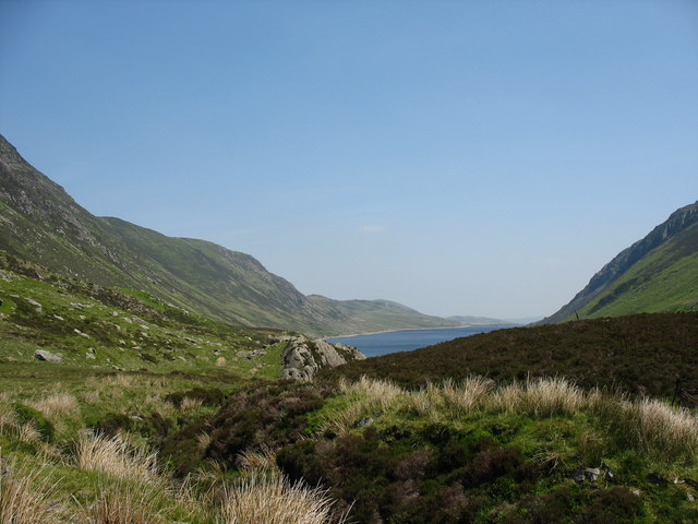The Col Above Llyn Cowlyd - geograph.org.uk - 241542