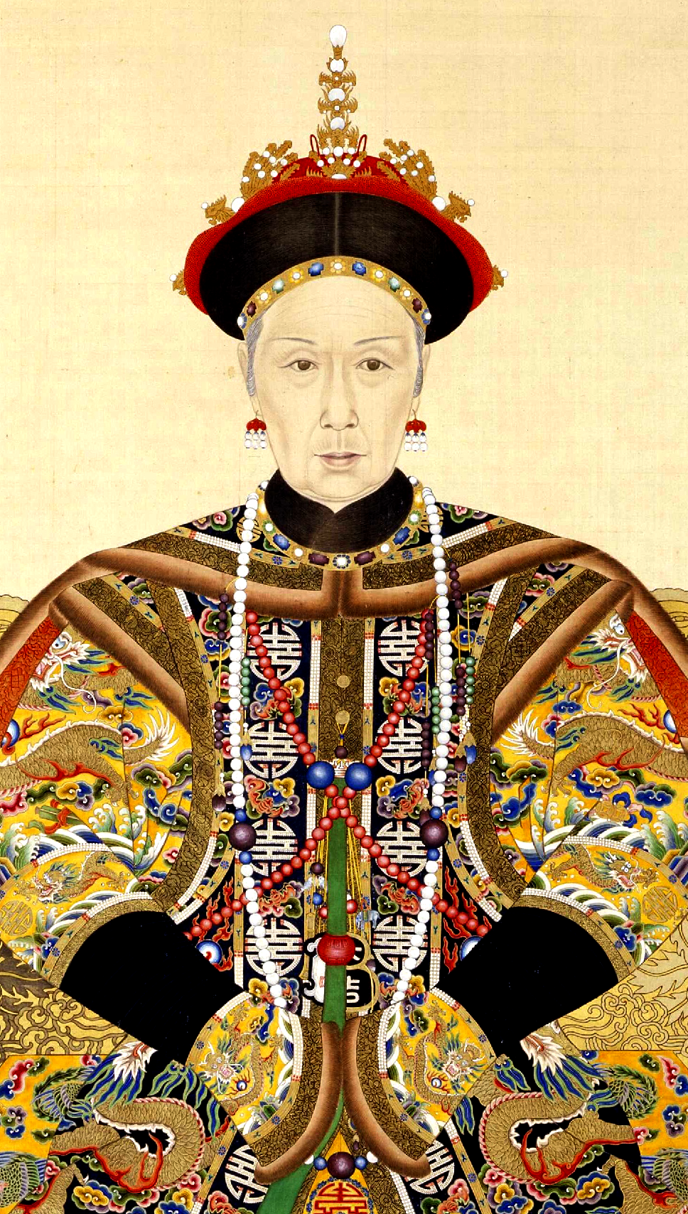 Fichier:The Imperial Portrait of the Ci-Xi Imperial Dowager Empress.PNG
