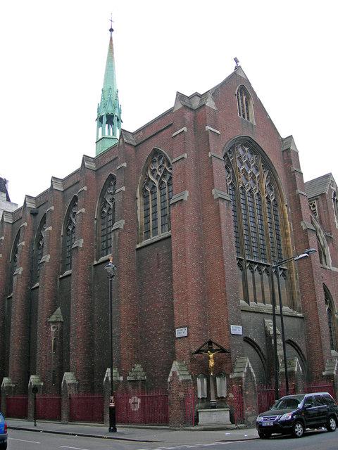 The Parish Church Of The Annunciation Near To Marylebone
