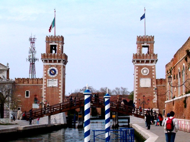 The towers of the Arsenal of Venice Republic.