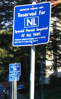 Nobel laureates on Berkeley's faculty can take advantage of special exclusive parking spaces on the Berkeley campus. As of October 2019, 107 Nobel laureates have been affiliated with the university.