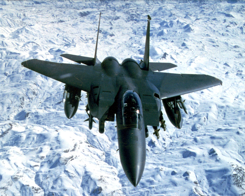 US Military Photos and Videos: USAF_F-15E_Strike_Eagle_Iraq_1999