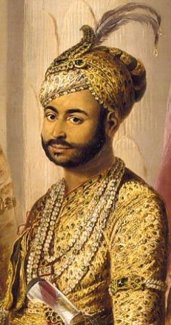 Umdat ul-Umara the Nawab of the Carnatic was a covert ally of Tipu Sultan. - Tipu Sultan