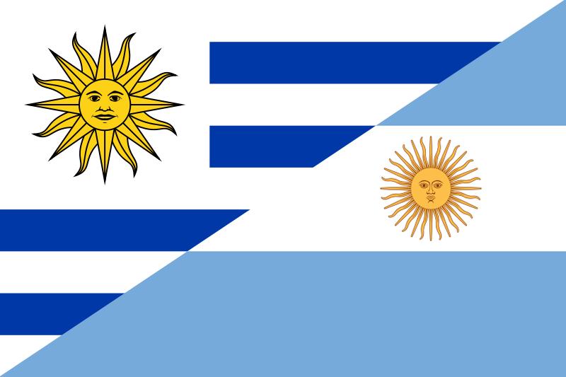 Hermanos con historia Argentina y Uruguay