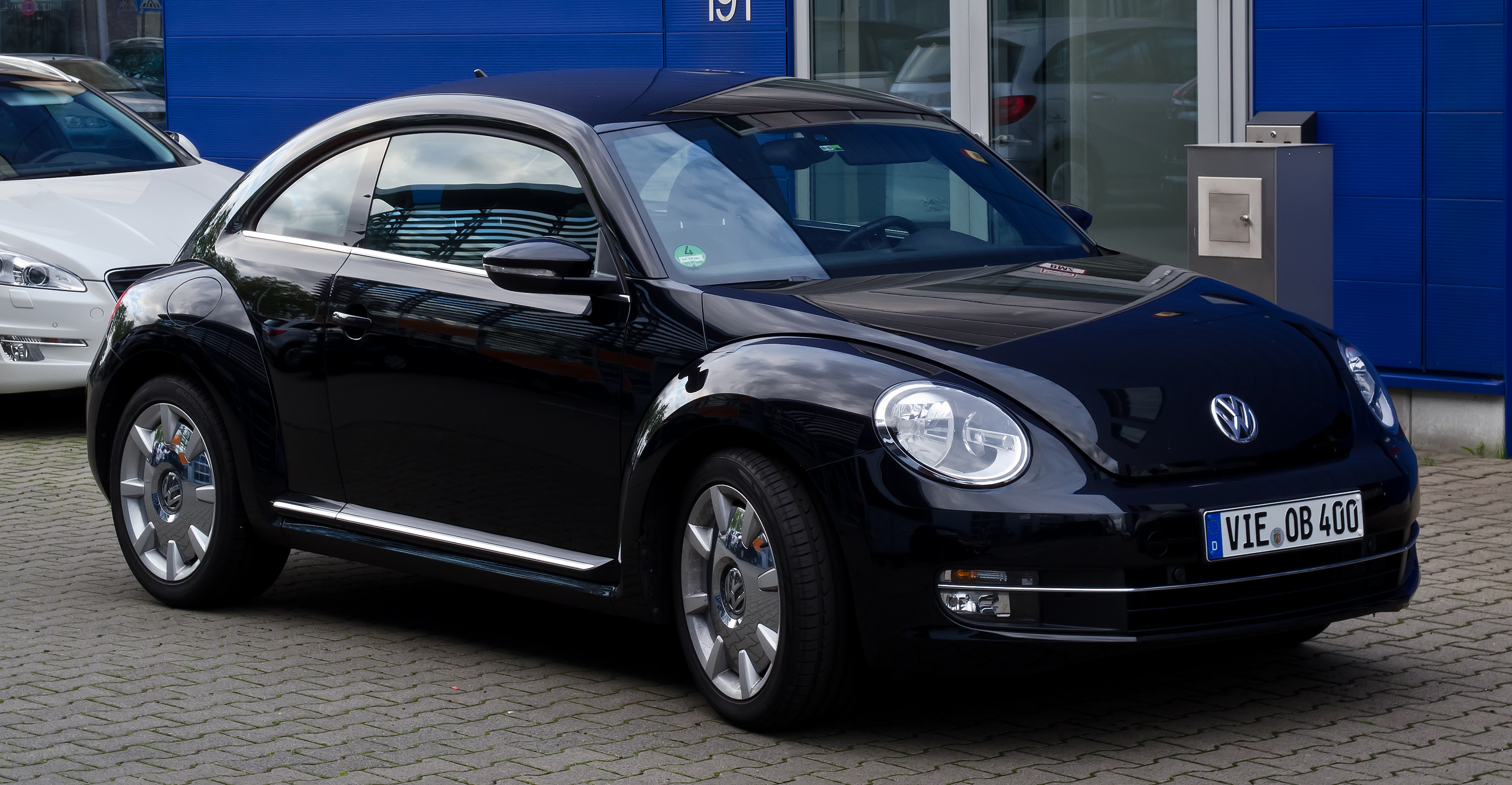 Who Designed The Vw Beetle >> Archivo:VW Beetle Design – Frontansicht, 8. Juli 2012