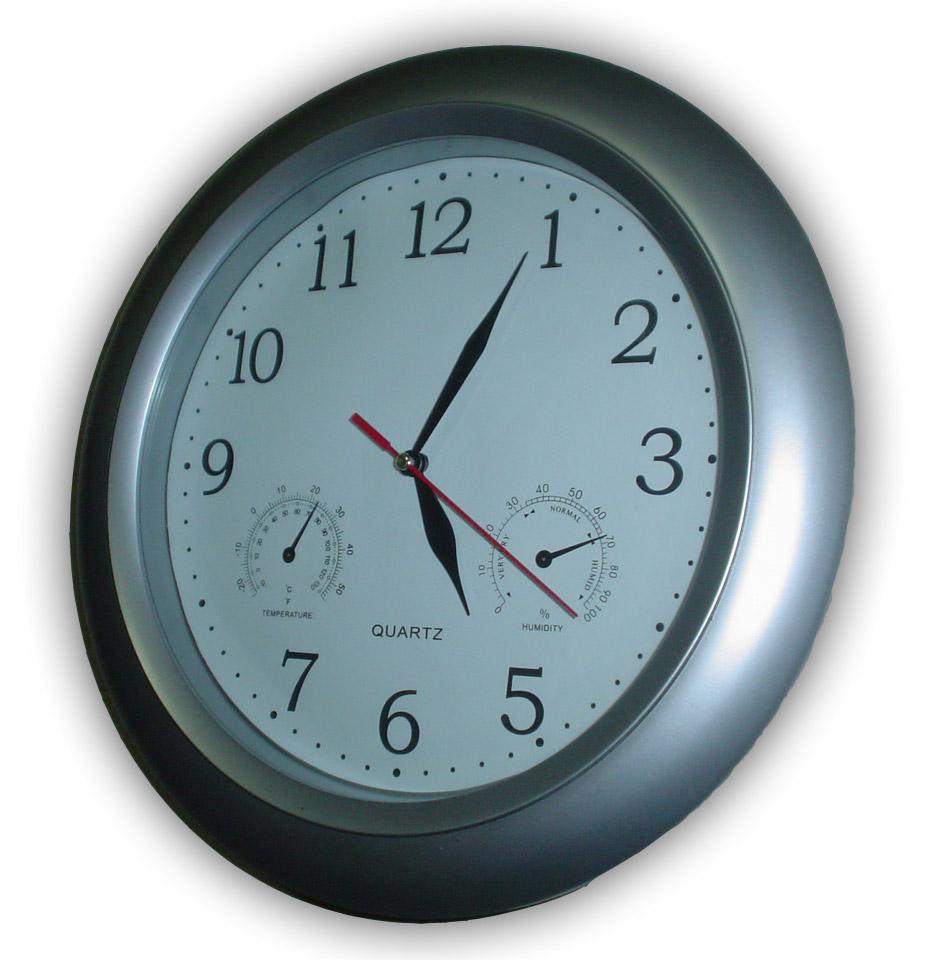 پرونده:Wall clock.jpg