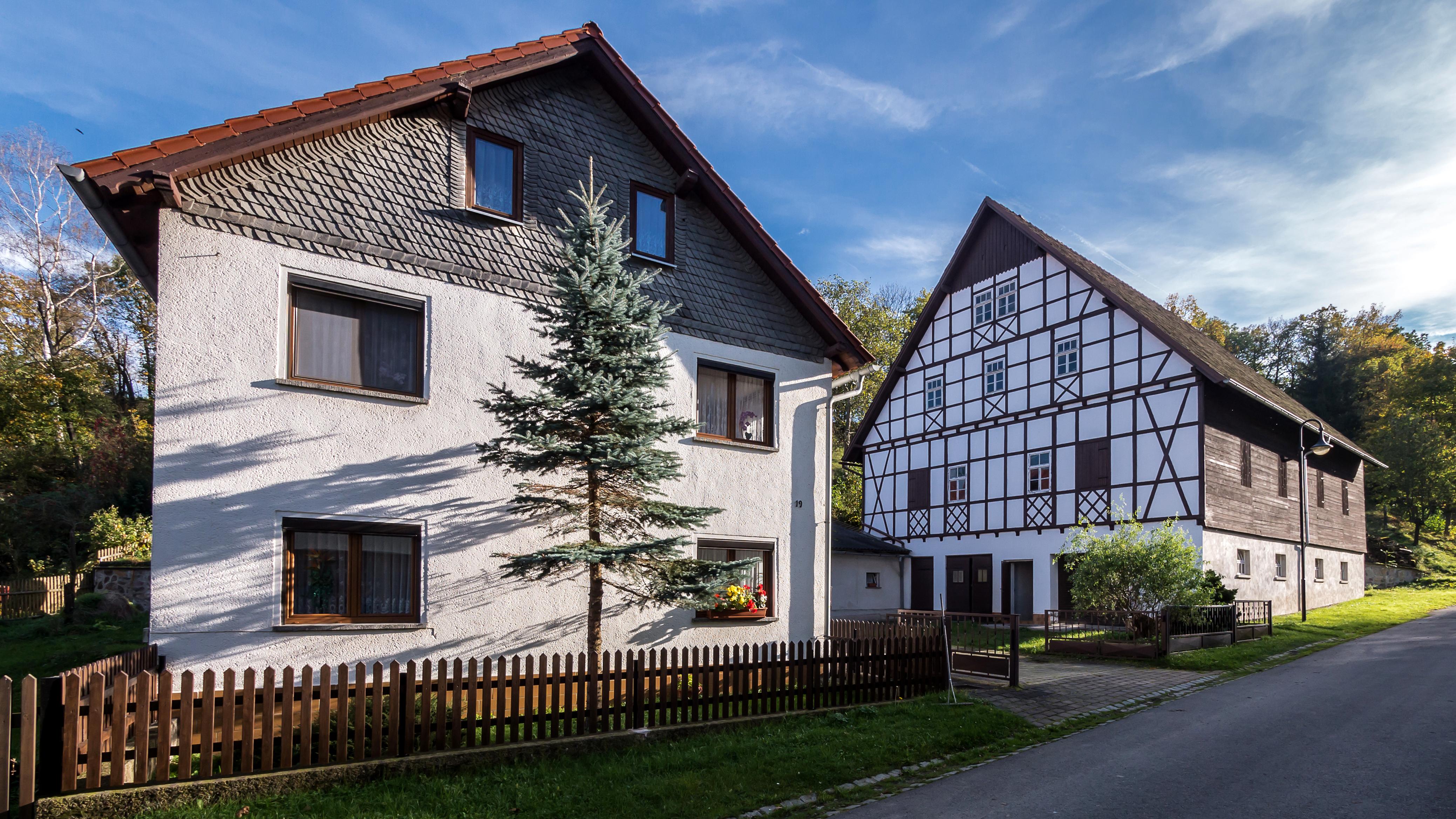File Weischwitz Haus Nr 19 Scheune Jpg Wikimedia Commons