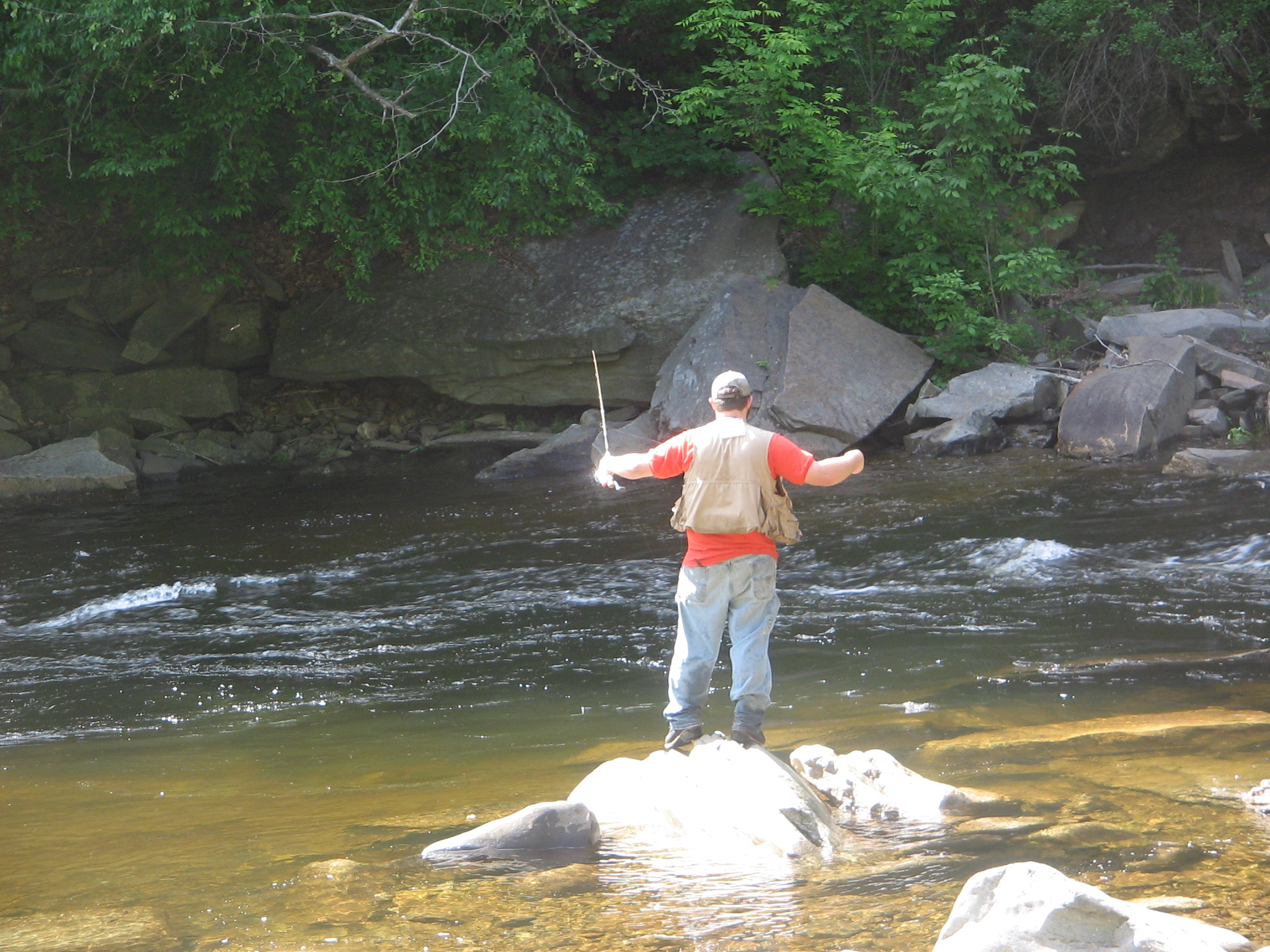File worlds end state park wikimedia commons for Fly fishing west virginia